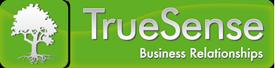 TrueSense – Business Relationships Logo